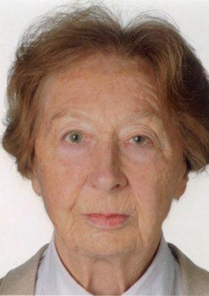 Portrait von Hildegard Muth geb. Stadlmann